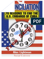 Reconciliation 78 Reasons to End the US Embargo of Cuba Free Sampler
