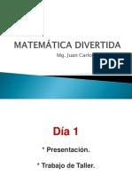 Matematica Divertida - Día 1