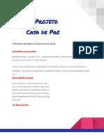 Projeto Casas de Paz