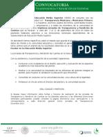 Convocatoria 2015 Rendición de Cuentas