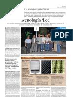 lidolight instaló luminarias de led en la Isla de Gran Canaria.