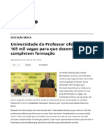 Universidade Do Professor