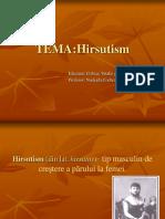 HIRSUTISM. Diagnosticul Tratament