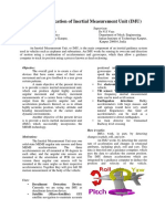 Design and Fabrication of Inertial Measurement Unit (IMU)