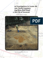 Densler Archaeological Report by New South Associates