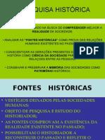 História Geral PPT - Pesquisa Histórica