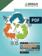 9. Catalogo Medidas RRD en Residuos Solidos
