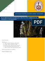 Plan Prevención de Riesgos y Protección Ambiental en Trabajos Topográficos