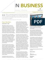 Dublin Chamber November 2010 Newsletter