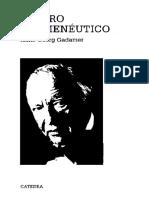 Hans-Georg Gadamer - El Giro Herméneutico
