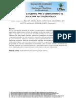 Artigo Diagnosticos e Sugestoes Para Gerenciamento