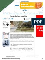 Drenaje Urbano Sostenible