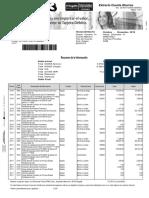 Extracto Cuenta de Ahorros OCT NOV-DIC 2018