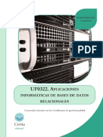 Uf0322 Aplicaciones Informaticas de Bases de Datos Relacionales