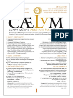 Praeconium Caelum 2019