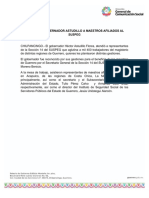 26-03-2019 Atiende El Gobernador Astudillo a Maestros Afiliados al SUSPEG