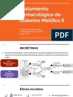 Tratamiento farmacológico DM II