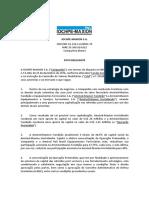 03-01-17 Fato Relevante IMSA -One-Phase