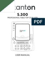 Stanton S.300 User Manual