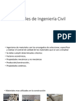 Materiales de Ingeniería Civil