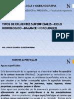 Ppt Tipos de Fuentes Superficiales El Ciclo Hidrológico Balance Hidrológico