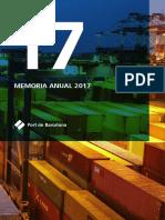 PORT DE BARCELONA MEMORIA ANUAL 2017 ES.pdf