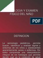 Semiologia y Examen Fisico Del Niño (1)