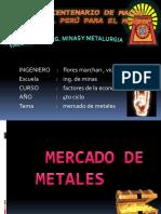 1.Mercado de Metales