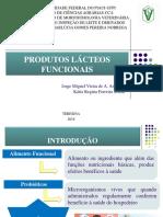 PRODUTOS LÁCTEOS FUNCIONAIS
