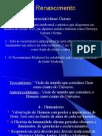 História Geral PPT - Renascimento II