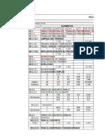 Metrados y Presupuesto Preliminar