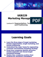UGB 229-Lecture 8