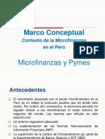 Marco Conceptual Microfinanzas en El Perú