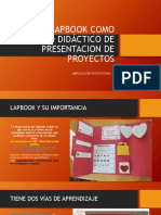 Uso Del Lapbook Como Recurso Didáctico de Presentacion