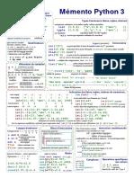 Memento Python Sci Lab