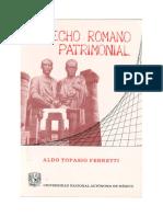 FERRETTI - Derecho Patrimonial Romano.pdf