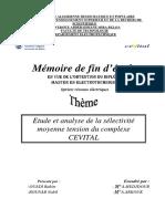 Etude et analyse de la sélectivité moyenne tension du complexe CEVITAL.pdf