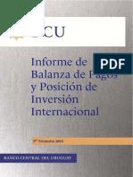 Uruguay Balanza de Pagos