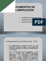 2 Documentos de Planificación