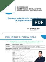 incubadora de empresas + investigacion