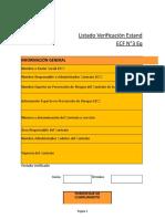 Lista Verificación ECF N°3