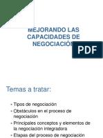 Mejorando Capacidades de Negociacion Pucp