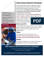 Geosciences Flyer