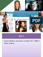 PPT Emma Watson English Basic