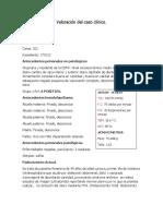 Valoración Del Caso Clínico Miomatosis