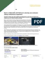 20190218 Epiroc Collaborates With Railcare to Develop Zero Emission Railway Maintenance Equipment