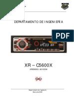 Xr c5600 Autorradio