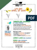 April Classes & Events