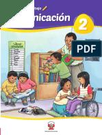 Comunicación 2 Cuaderno de Trabajo Para Segundo Grado de Educación Primaria 2019