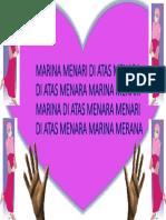 Marina Menari